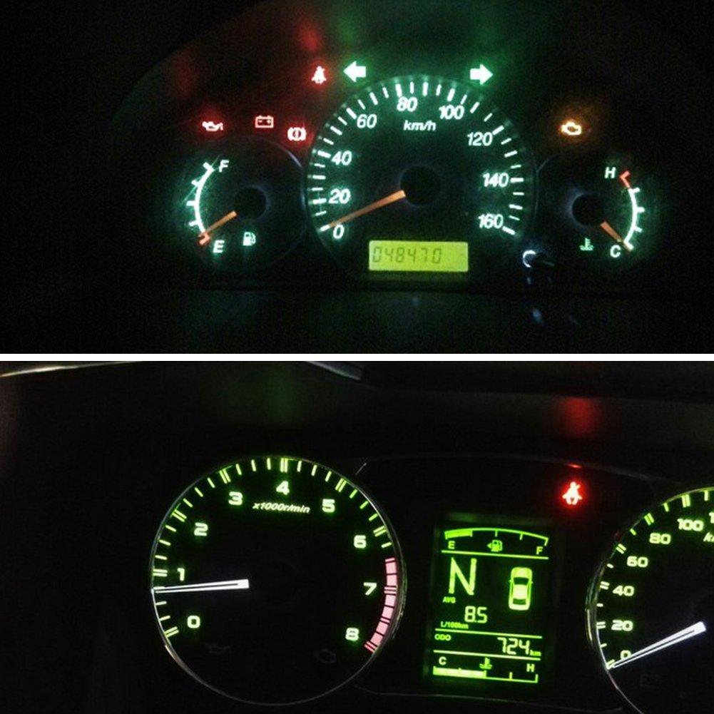 TABEN T4.7 Neo Cuneo LED luci riscaldatore A//C comandi LED COB-1SMD 12 V Adatto per Dodge RAM 1500 2500 3500 2001-2012
