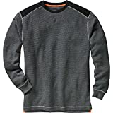 Legendary Whitetails Men's Contour Thermal Crew Charcoal Heather Large