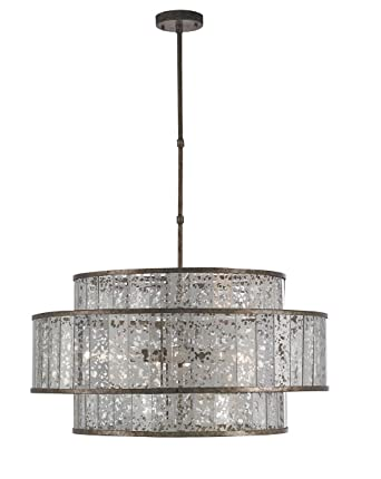 Currey and company 9454 fantine eight light chandelier pyrite currey and company 9454 fantine eight light chandelier pyrite bronzeraj mirror finish aloadofball Image collections