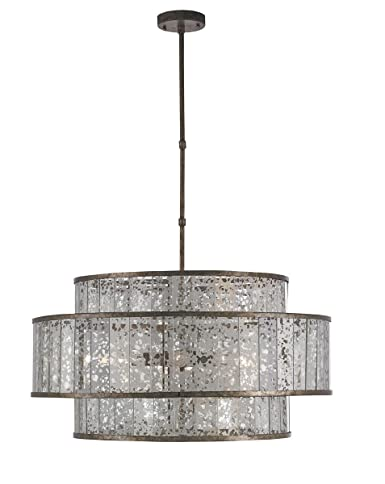 Currey and company 9454 fantine eight light chandelier pyrite currey and company 9454 fantine eight light chandelier pyrite bronzeraj mirror finish aloadofball