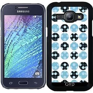 Funda para Samsung Galaxy J1 - Lunares Azules by VanessaGF