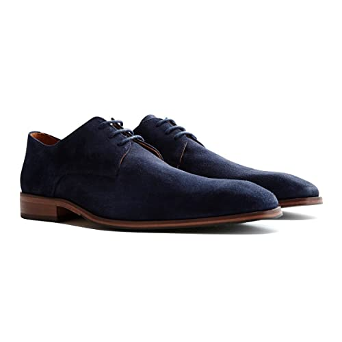Travelin' Heathrow Suede Derby Schnürhalbschuhe Herren
