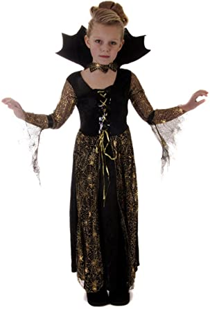 Halloween Costumes For Girls Age 13.Childs Girls Spiderella Spider Witch Vampire Halloween Fancy Dress Costume Outfit 10 12 Years