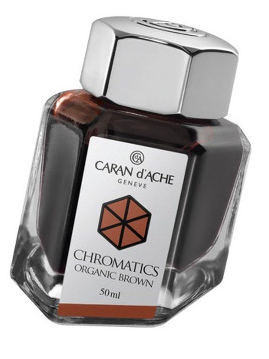 Caran Dache Infinite Grey Chromatics Fountain Pen Ink Glass Bottle (50ml)
