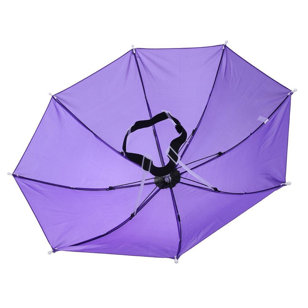 Broadroot Kopf Regenschirm Anti-Rain Angeln Anti-Sun Regenschirm Hat Erwachsene Supplies