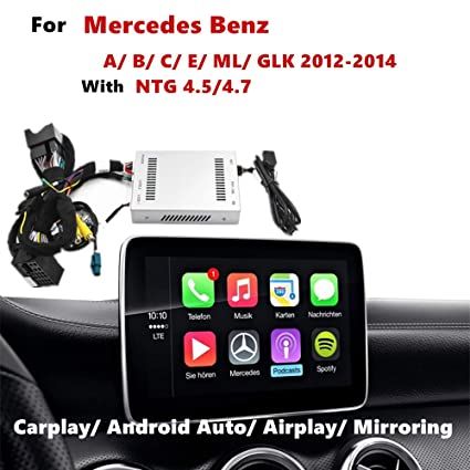 Amazon com: Upgrade Carplay Android Auto Navigation Receiver