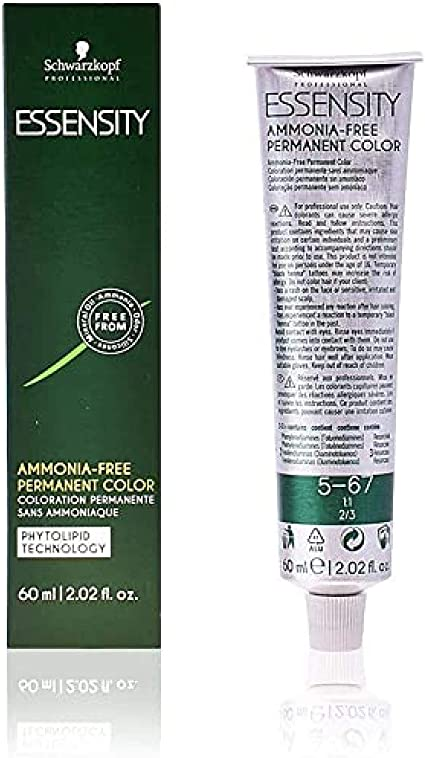 Schwarzkopf Professional Essensity Permanent Color Ammonia Free Tinte Tono 5-67 - 60 ml