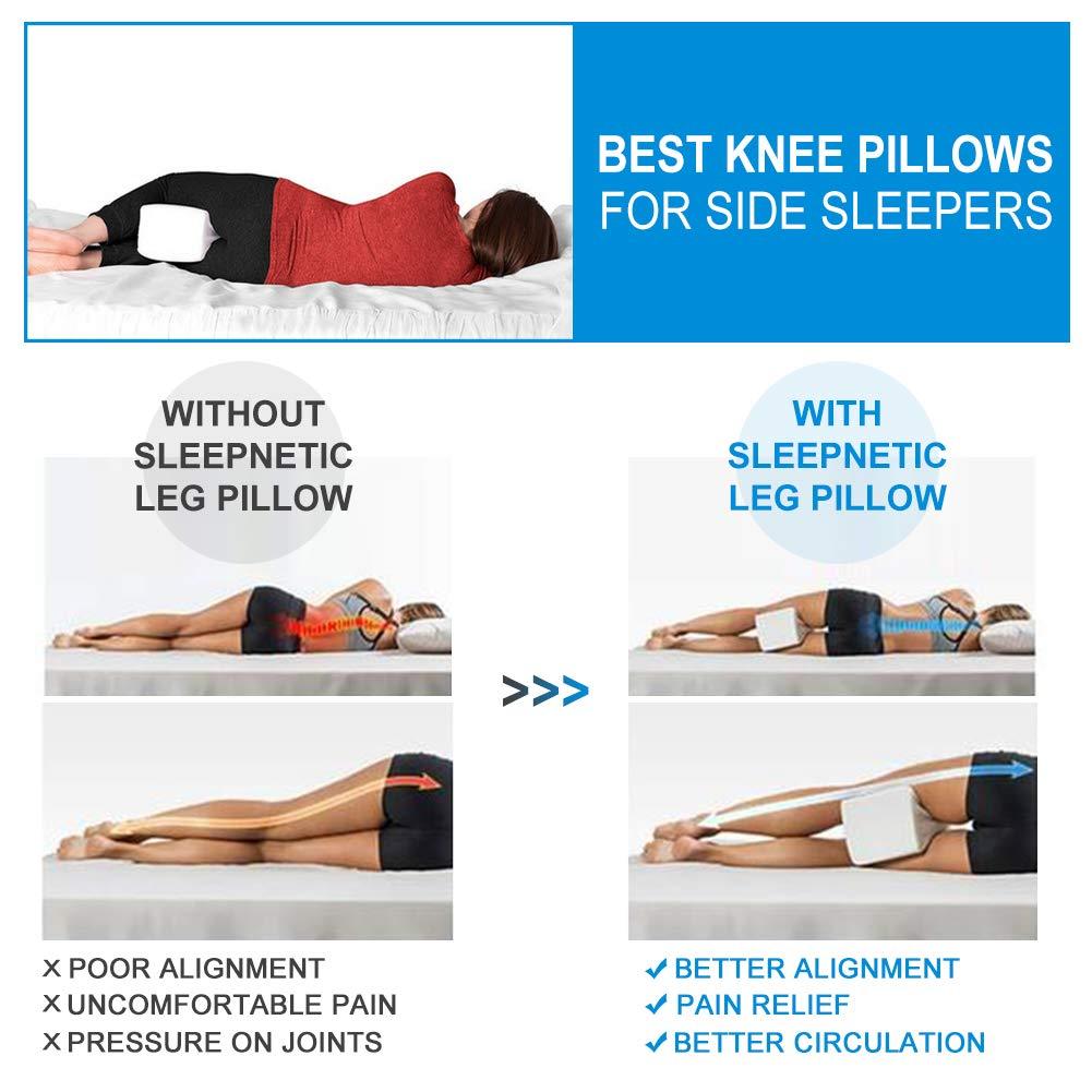 Almohadas-para-piernas-para-dormir-Cojin-ortopedico-para-almohada-con-de-m miniatura 6