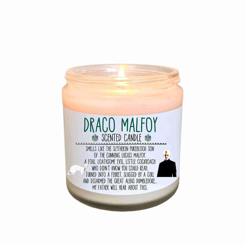 Draco Malfoy Candle