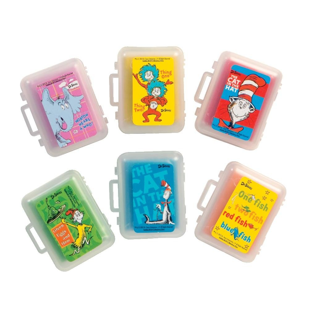 Raymond Geddes Dr, Seuss Scented Kneaded Erasers, 36 Pack (68977)