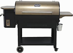 Ozark Grills - the Bison Wood Pellet Grill and Smoker with 2 Temperature Probes, 23 Pound Hopper, 892 Square Inch Cooking Area