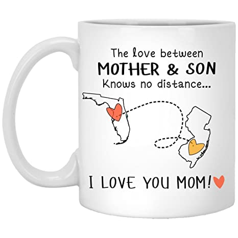 Amazoncom Florida New Jersey The Love Between Mother And Son Knows