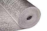 Reflective Thermal Foil Foam Insulation- (4 X 50 Ft Roll) Commercial Grade, Heat Barrier Mat, for Soundproofing, Noise Insulation, Weatherproofing Roofs, Windows, Garages, RV's, More