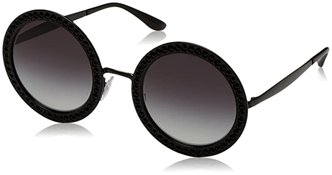 Dolce & Gabbana 0Dg2170B Gafas de sol, Black, 51 para Mujer ...