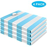cymeray Vacuum Storage Bags, Space Saver Bags for Clothes Comforters Blankets Mattress Pillows for Travel and Home Use