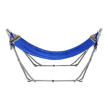 Unho Hamac Avec Support Pliable En Nylon Pour 1 2 Personnes Chaise