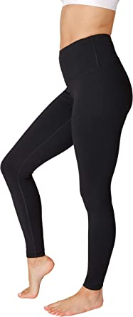 Amazon.com: 90 Degree By Reflex High Waist Power Flex Tummy Control Leggings: Clothing
