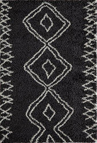 (Momeni Rugs Maya Collection, Ultra Thick Pile Shag Area Rug, 3'11