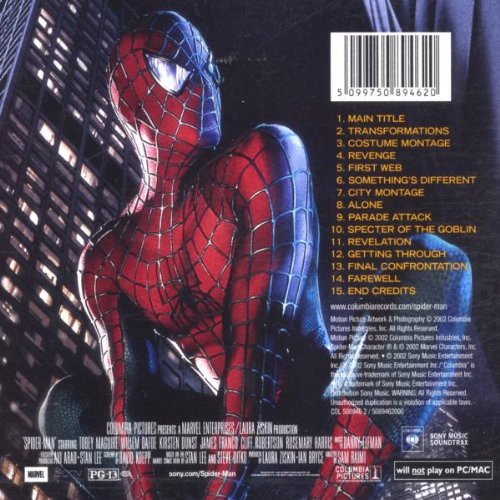 sc 1 st  Amazon & Spider-Man (Score) - Danny Elfman: Amazon.de: Musik