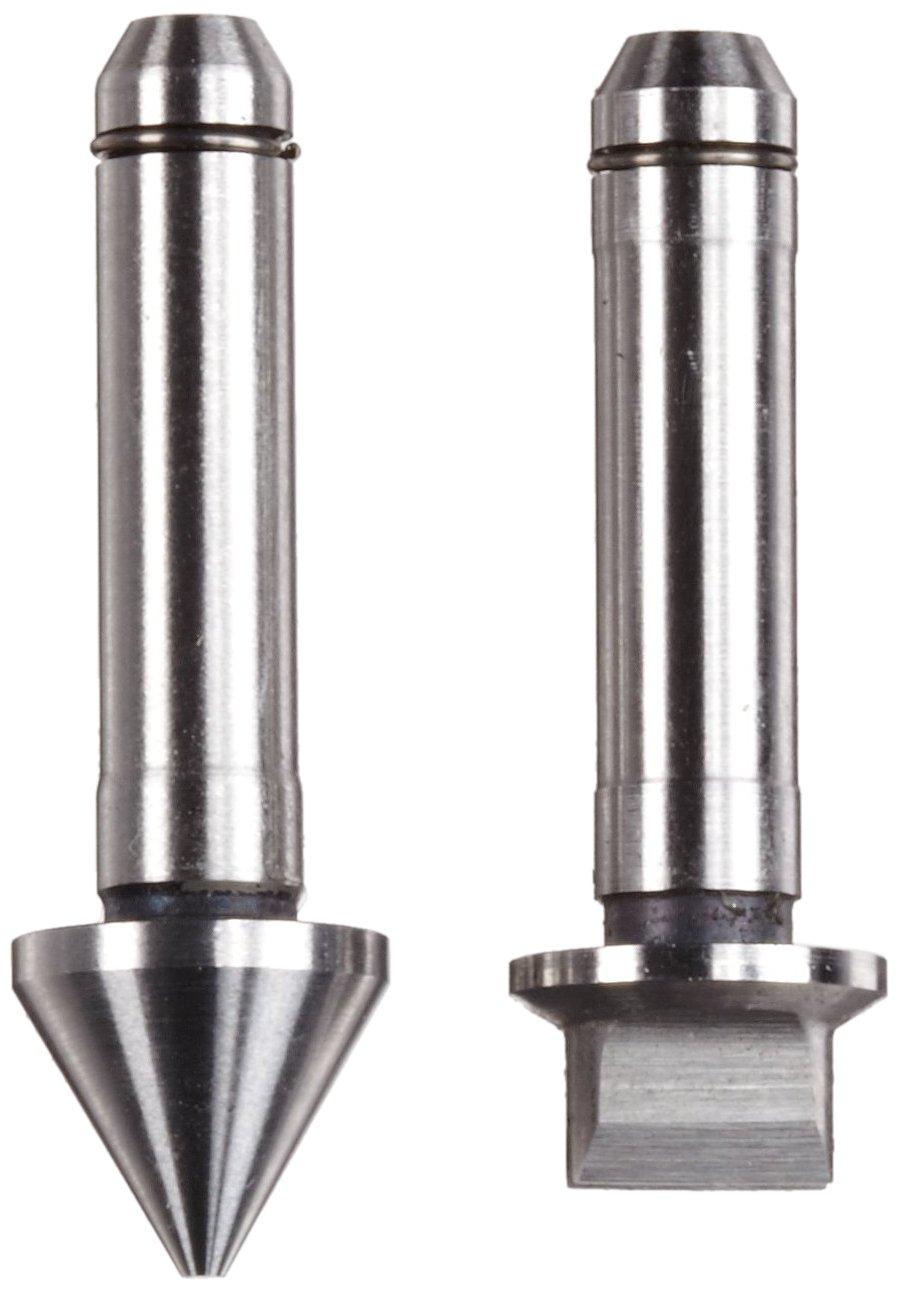 Brown /& Sharpe TESA 02.50002 Interchangeable Thread Insert for TESA AC Series Micrometers 60 deg Flank 25-17 Threads//Inch Unified Threads