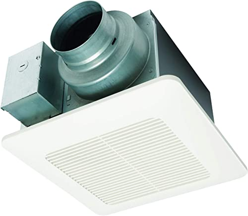 Panasonic FV-0511VQ1 WhisperCeiling DC Ventilation Fan, Speed Selector, SmartFlow Technology, Quiet Renewed
