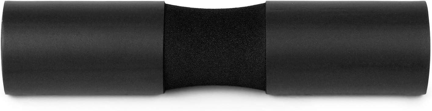 Walmeck Cuscino per bilanciere Squat Pad Collo Spalla Protettiva Supporto con Cinghie di Fissaggio per Squat Affondi Anca Spinta Pad per Sollevamento Pesi