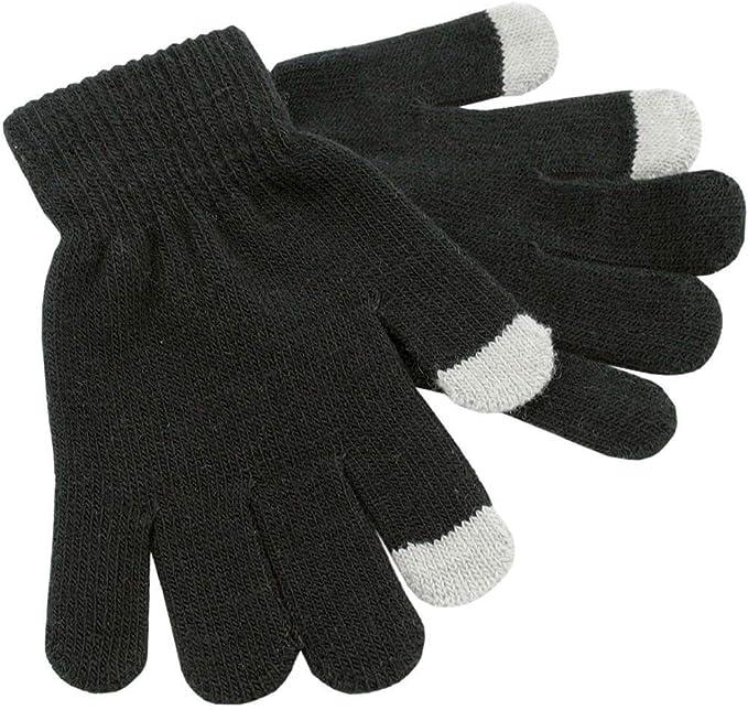 Ladies Pro Climate Fleece Gloves with Faux Fur Cuff LA339 Black or Tan