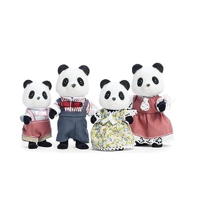 Calico Critters Wilder Oso Panda Familia: Juguetes y juegos
