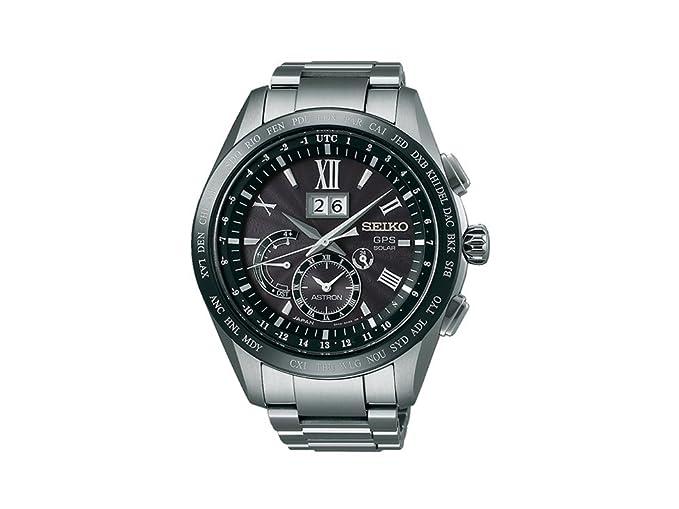 Reloj Seiko Astron SSE137J1 Hombre Negro Titanio