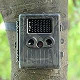 Docooler HT-002LIM Caméra de Chasse des Animaux Sauvages HD Digital Surveillance de Trace MMS/EMAIL/SMTP/SMS LED IR Enregistreur Vidéo 12MP Anti-pluie