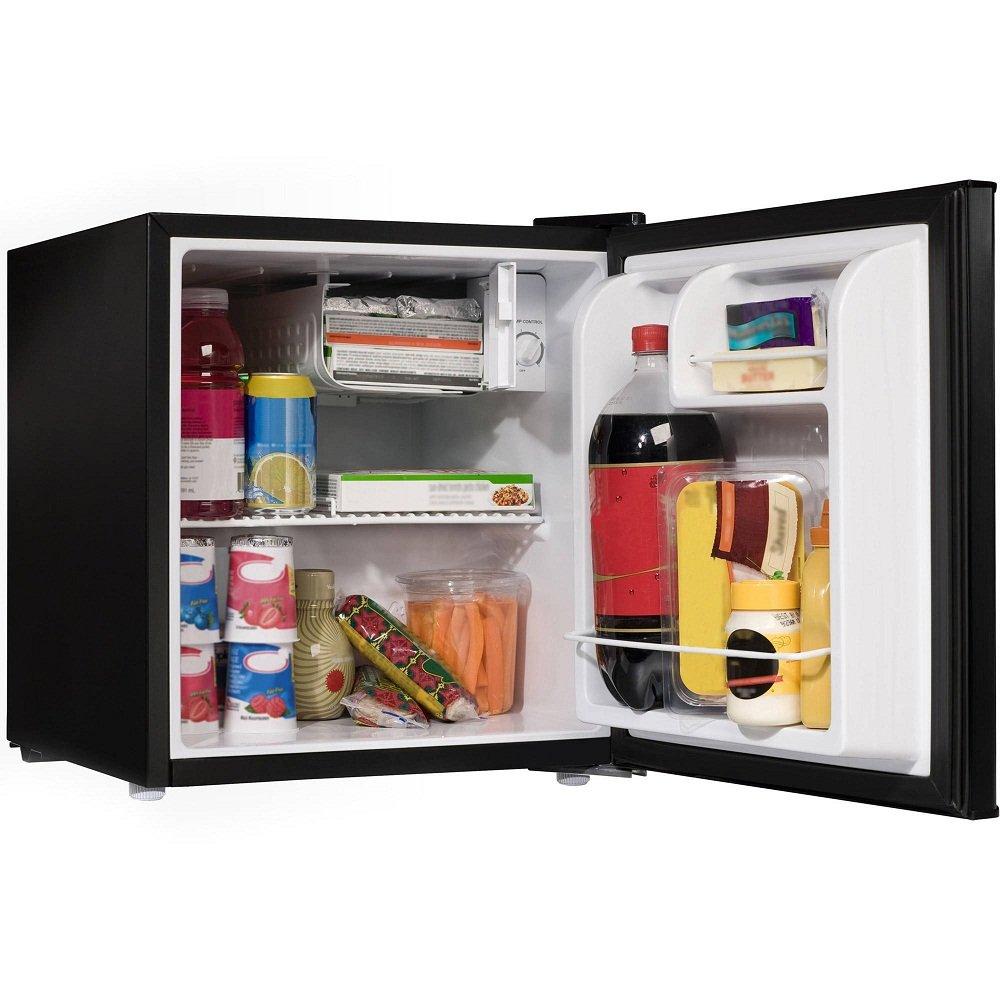 Willz WLR17BK 1.7 cu.ft. Refrigerator Single Door/ Chiller, Black by Willz (Image #3)