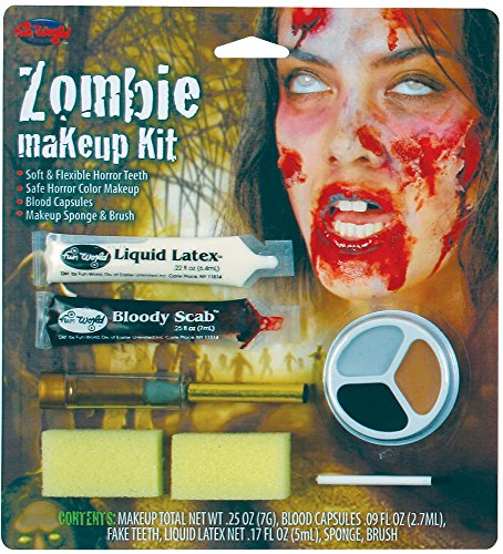 Womens Zombie Makeup Kit - ST ()