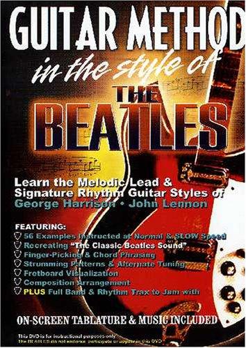Guitar Method: In the Style of Beatles (Beatles Guitar Dvd)