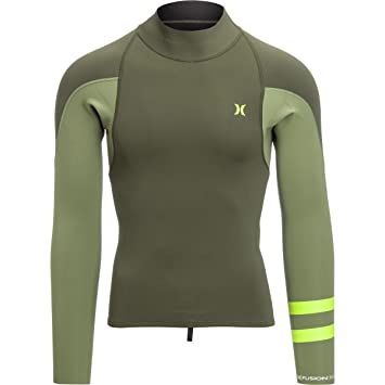Hurley Fusion 101 Wetsuit Jacket 2.0 - Men's Cargo Khaki, ...
