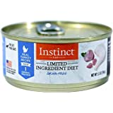Nature's Variety Instinct Limited Ingredient Diet Grain Free Real Turkey Recipe Natural Wet Canned Cat Food by, 5.5 oz. Cans (Case of 12)