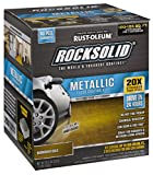 Rust-Oleum 299744 RockSolid Metallic Garage Floor Coating Burnished Gold