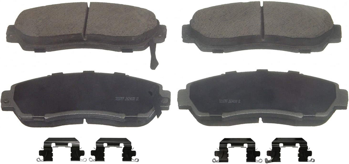 Disc Brake Pad Set-ThermoQuiet Disc Brake Pad Front Wagner QC1028