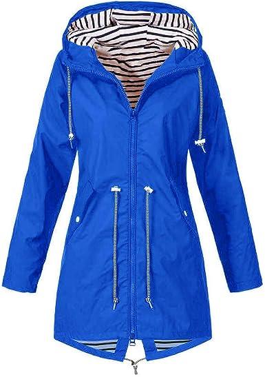 Gokomo Mit Lässig Frauen Bequem Mantel Plus Frühling Mode Wasserdichter Kapuze Damen Im Feste Freien Winddicht Herbst Regenmantel Regenjacke Jacke KJTl3c1F