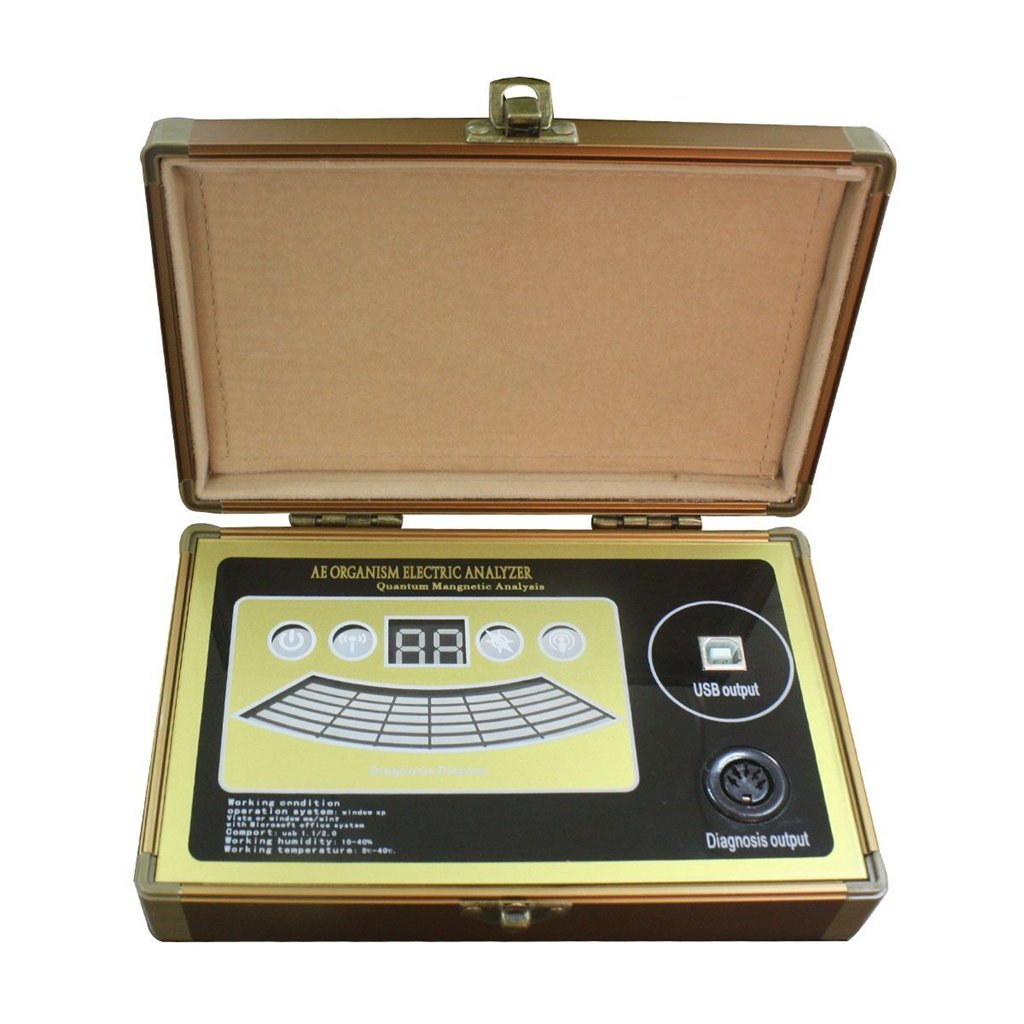 Report English Version Professional Quantum Resonance Magnetic Body Health Analyzer Made
