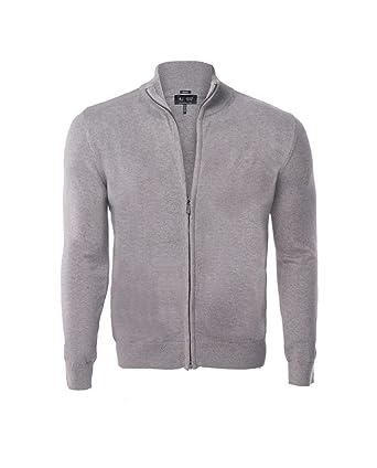 Armani Jeans - Gilet en Coton pour Homme 06W90 - Gris, XL  Amazon.fr ... 0b7479d65b93