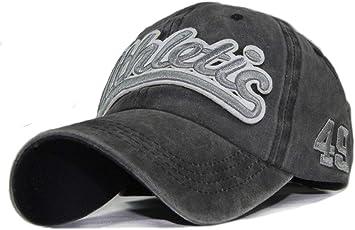 Qchomee - Gorra de béisbol de algodón Bordado Vintage con diseño ...