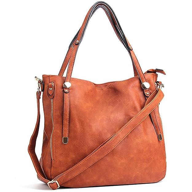 Review WISHESGEM Women Handbags PU