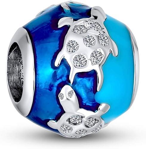 NEW Solid Anchor Sea Ship Silver European Charm Bracelet Pendant Jewelry Bead