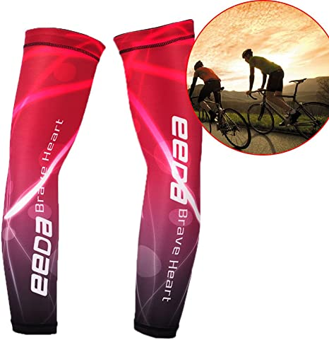 Manguitos bicicleta Bike Wear Running Wear Arm Sleeve – UV con ...
