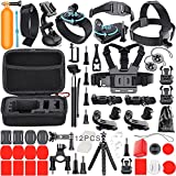 Leknes Common Outdoor Sports Bundle for SJ4000/SJ5000/SJ6000 and GoPro Hero 5/ 5 Session/4/3+/3/2/1 Cameras DBpower Akaso Xiaomi Yi Apeman Wimius