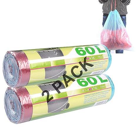 Amazon.com: Paquete de 100 bolsas de basura con cordón ...