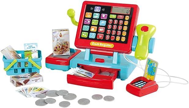 PlayGo - Caja registradora táctil eléctrica (44585): Amazon.es ...