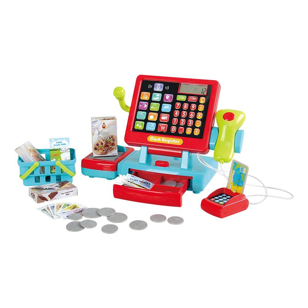 Playgo Caja registradora táctil eléctrica ColorBaby