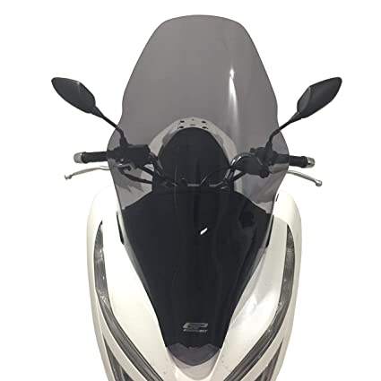 Amazoncom Honda Pcx 125 150 Windshield Windscreen 71cm 2018 Black