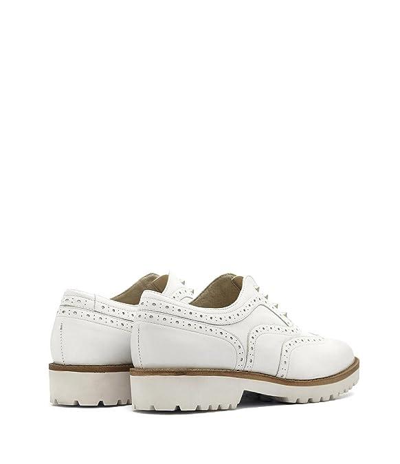 Poi lei femme budapest ines chaussures en cuir blanc - Blanc - Blanc, Taille 40 EU